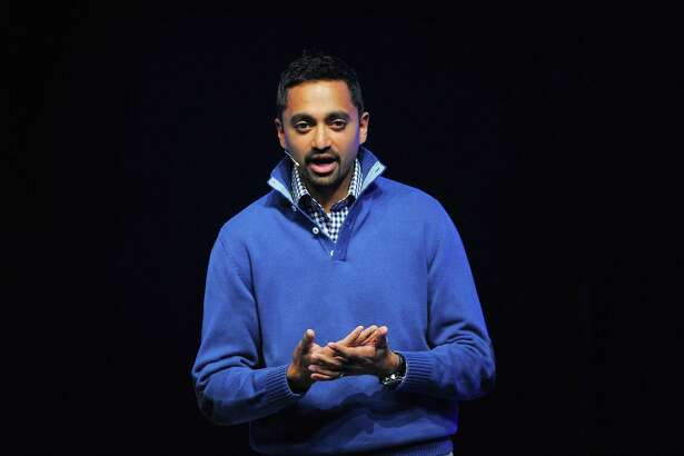 "Chamath Palihapitiya, then a Facebook executive, speaks at a 2011 conference. Now he encourages students to take a ""hard break from some of these tools and the things that you rely on."""
