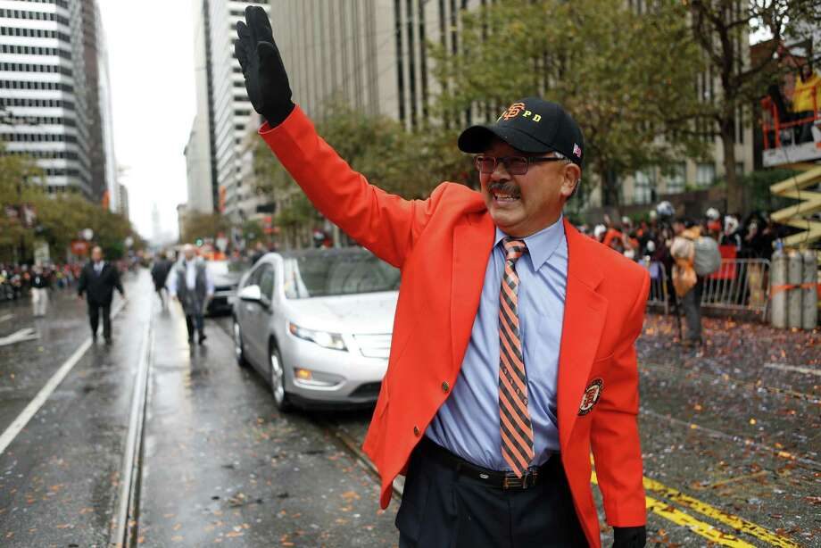 Ed Lee was San Francisco's mayor for two of the Giants' World Series parades. Photo: Scott Strazzante / The Chronicle / ONLINE_YES