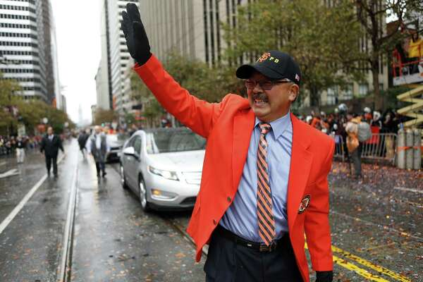 Ed Lee was San Francisco's mayor for two of the Giants' World Series parades.