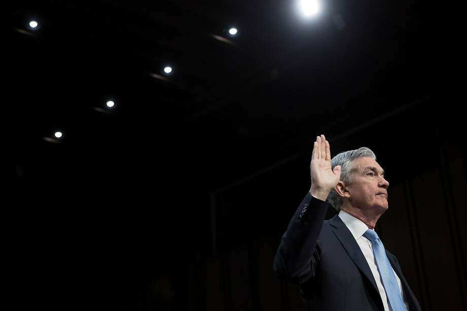 Jerome Powell has been chosen to head the Federal Reserve. Photo: TOM BRENNER, NYT