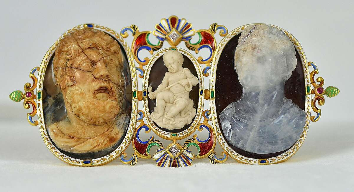 """Macabre jewelry from the Italian house of Codognato is featured in a new show, """"Memento Mori,"""" at the Serge Sorokko Gallery, 361 Sutter St., San Francisco, opening Dec. 14, 2017 through January 2018."""