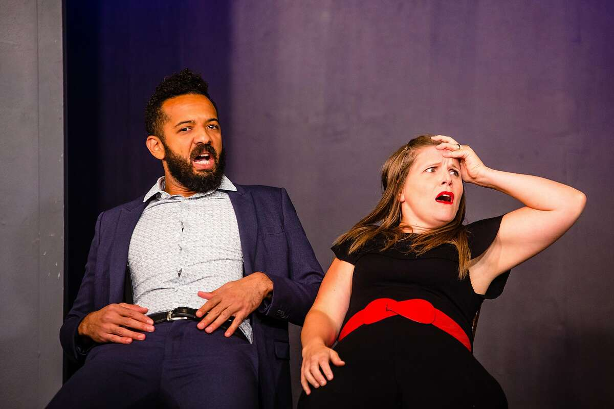 From left:�Ian Owens and Jo Scott in