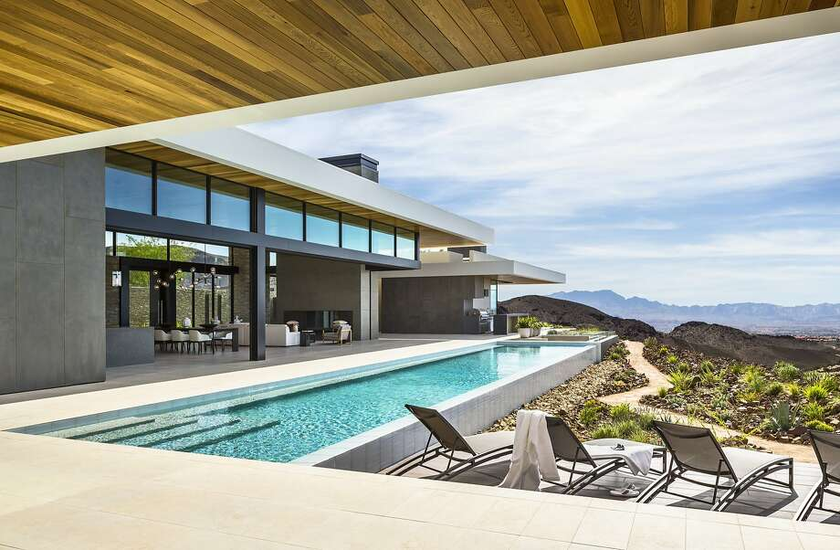 SB Architects designed Ascaya, a 7,200-square-foot private residence in Nevada. Photo: Ciro Coelho, �Ciro Coelho. All Rights Reserved.