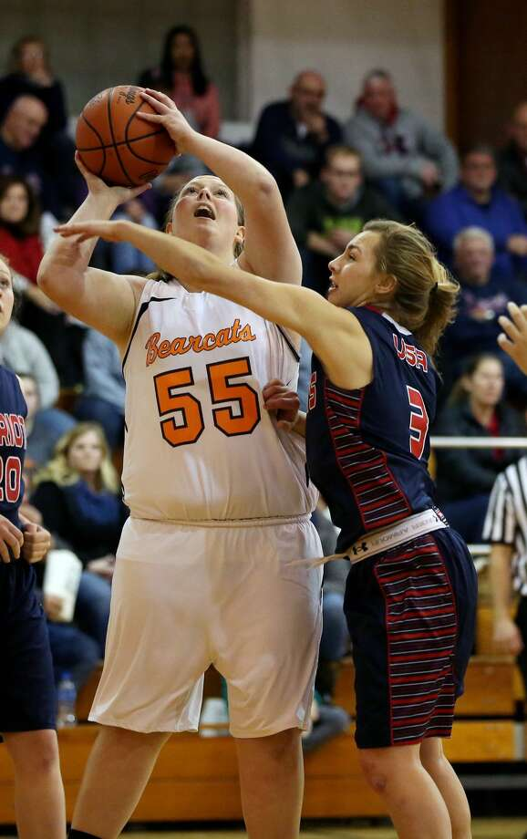 USA at Ubly — Girls Basketball 2017 Photo: Paul P. Adams/Huron Daily Tribune