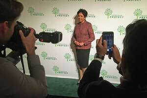 Indra Nooyi, CEO of PepsiCo, on the Red Carpet area