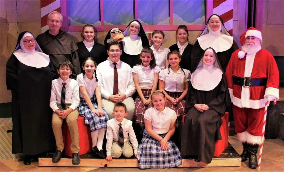 "The cast of the fun-filled musical, ""Nuncrackers"" is wrapping its run at Seven Angels Theatre on Sunday night; tickets are available. Photo: Contributed Photo /Seven Angels Theatre"