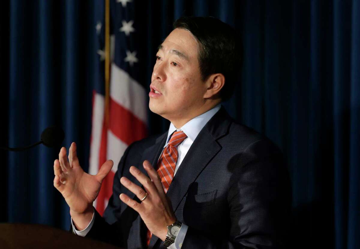 Former Acting U.S. Attorney for the Southern District of New York Joon H. Kim will be one of two attorneys who will investigate allegations of sexual harassment made against Gov. Andrew M. Cuomo. (AP Photo/Seth Wenig) ORG XMIT: NYSW112