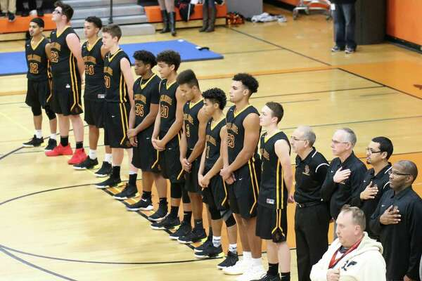 South Colonie Raiders Varsity Boy's Basketball at The Bethlehem Eagles on 12/12/17 in Delmar NY. Photo: Robert Dungan (Special to the Times Union) ORG XMIT: MER2017082023255053