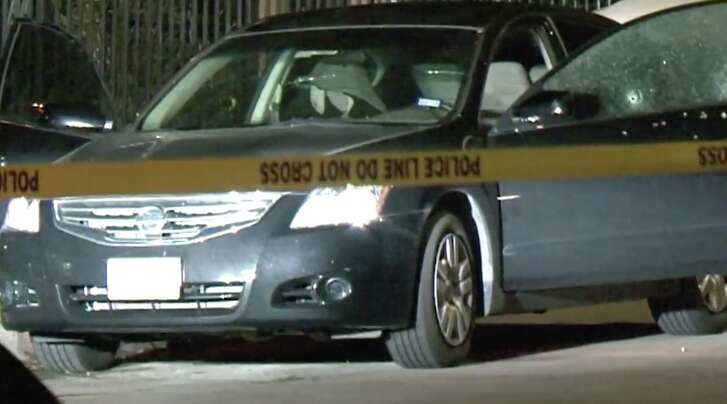 Police found a man shot to death in his car on Bataan Street early Wednesday morning.
