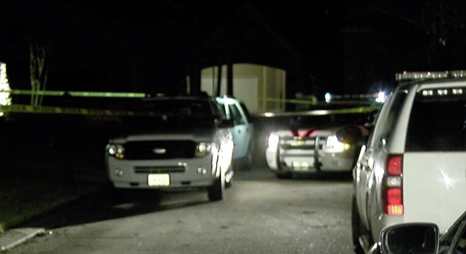The Montgomery County Sheriff's Office believes a son killed his father before turning the gun on himself. Photo: OnScene.TV