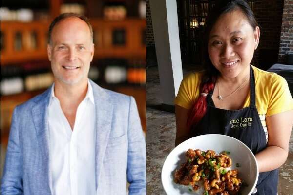 Restaurateur Jerry Lasco, left, is collaborating with Cuc Lam, right, to open Sing, a new Singaporean-inspired restaurant opening in the Garden Oaks/Oak Forest neighborhood in spring 2018. The restaurant also will feature dishes from China, Vietnam, Thailand, India and Malaysia.