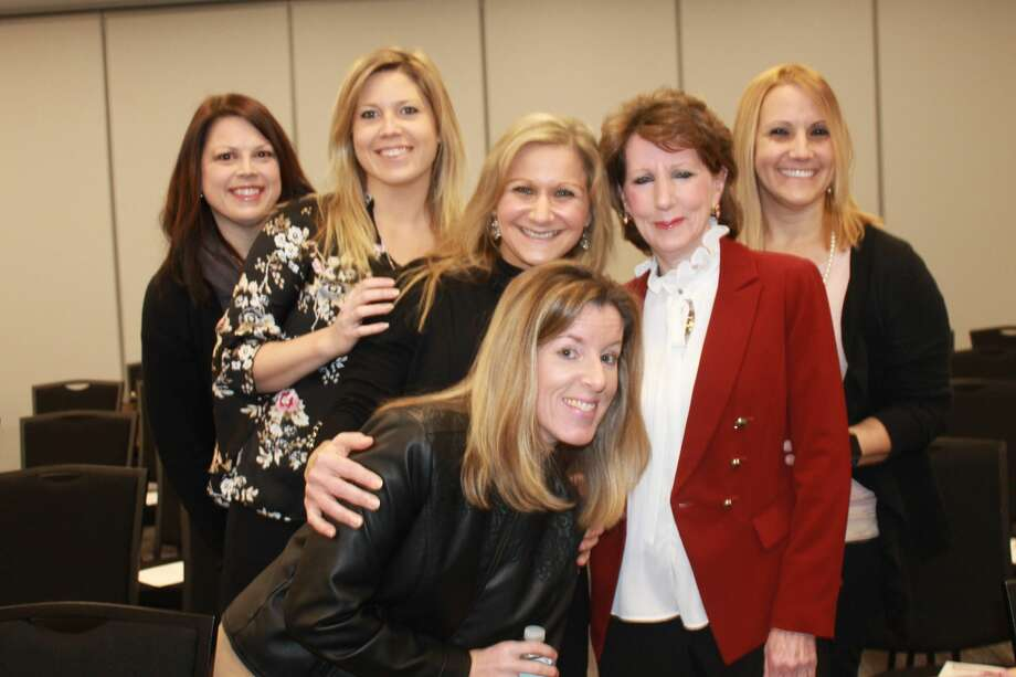 Were you Seen at the Women@Work breakfast event with Stacy Clifford and Sue Donovan, the founders of Holistic Wealth Advisors, at the Times Union in Albany on Wednesday, December 13, 2017? Not a member of Women@Work yet? Join today: www.womenatworkny.com/checkout/ Photo: Julie Azadian
