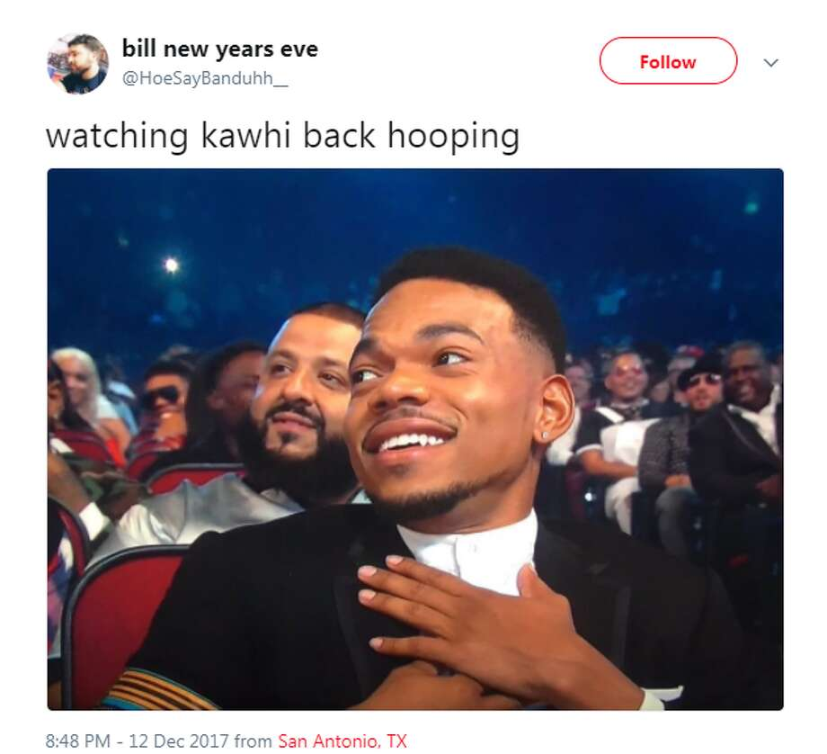 @HoeSayBanduhh__: watching kawhi back hooping Photo: Twitter.com