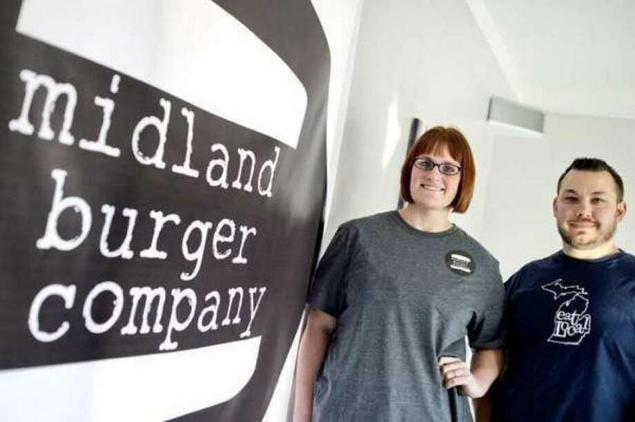 Jim and Ashley Welch co-own Midland Burger Co. (File Photo/Nick King)