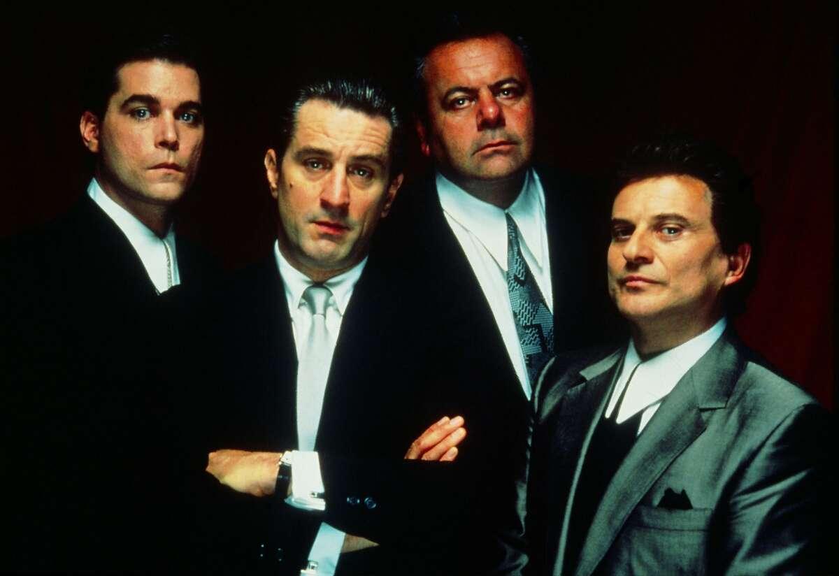GOODFELLAS - Ray Liotta. Robert De Niro, Paul Sorvino, Joe Pesci.