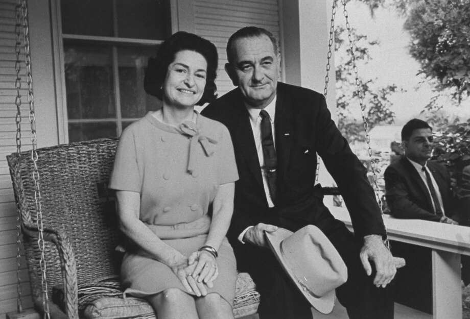 Pres. Lyndon B. Johnson with wife after his election victory.  (Photo by John Dominis/The LIFE Picture Collection/Getty Images) Photo: John Dominis/The LIFE Picture Collection/Getty Images