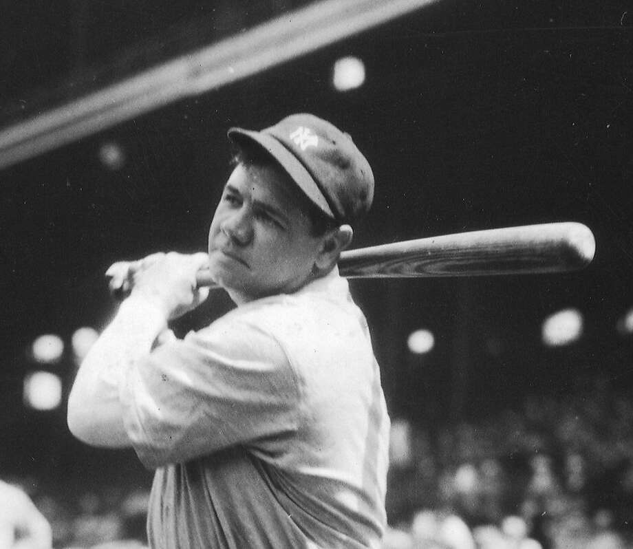 Babe Ruth: Excellent home run hitter waited for his pitch instead of swinging wild. Photo: HANDOUT