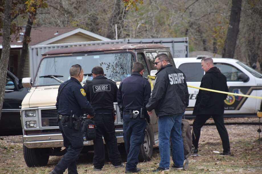 A man was arrested Wednesday after he allegedly stabbed his father at a home in South Bexar County. Photo: Caleb Downs / San Antonio Express-News