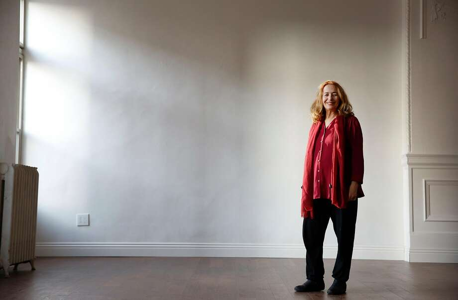 Linda Ayres Frederick, actor, playwright, sometime theater critic and artistic director of Phoenix Theatre, stands for a portrait in a new theater space for Phoenix Theatre  on Friday, December 8, 2017 in San Francisco, Calif. Photo: Lea Suzuki, The Chronicle