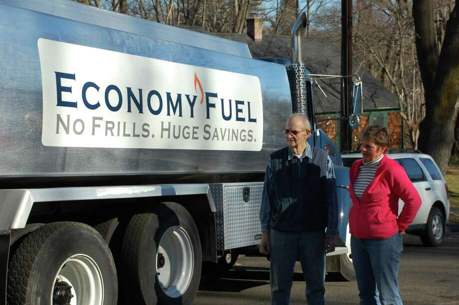 Economy Fuel delivers home heating oil in Fairfield. Photo: File Photo / Fairfield Citizen contributed