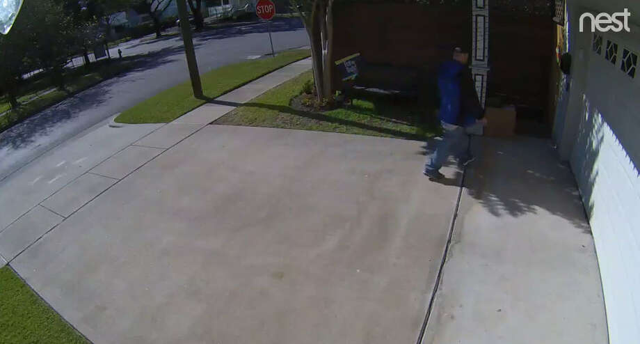 The Harris County Precinct 1 arrested a man who was captured on a security camera in the Heights neighborhood in Houston, this week.