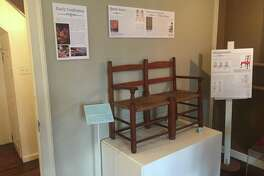 "The Sharon Historical Society will present ""The History of Chairs"" on its new exhibit on Saturday, Dec. 16."