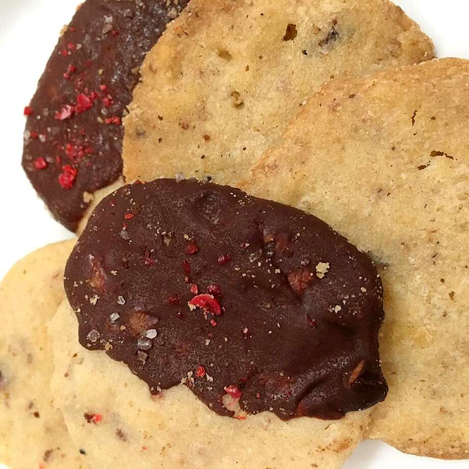 Video producer Joy Branecky won the inaugural intraoffice Express-News Cookie Bake Off with these Red Hot Potato Chip Cookies. Photo: Joy Branecky /San Antonio Express-News