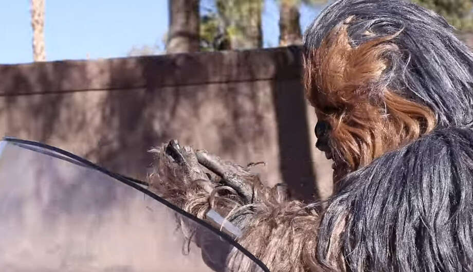 "The Las Vegas police released a ""Star Wars"" themed public service announcement against distracted driving on their social media Wednesday and the interwebs went crazy!"