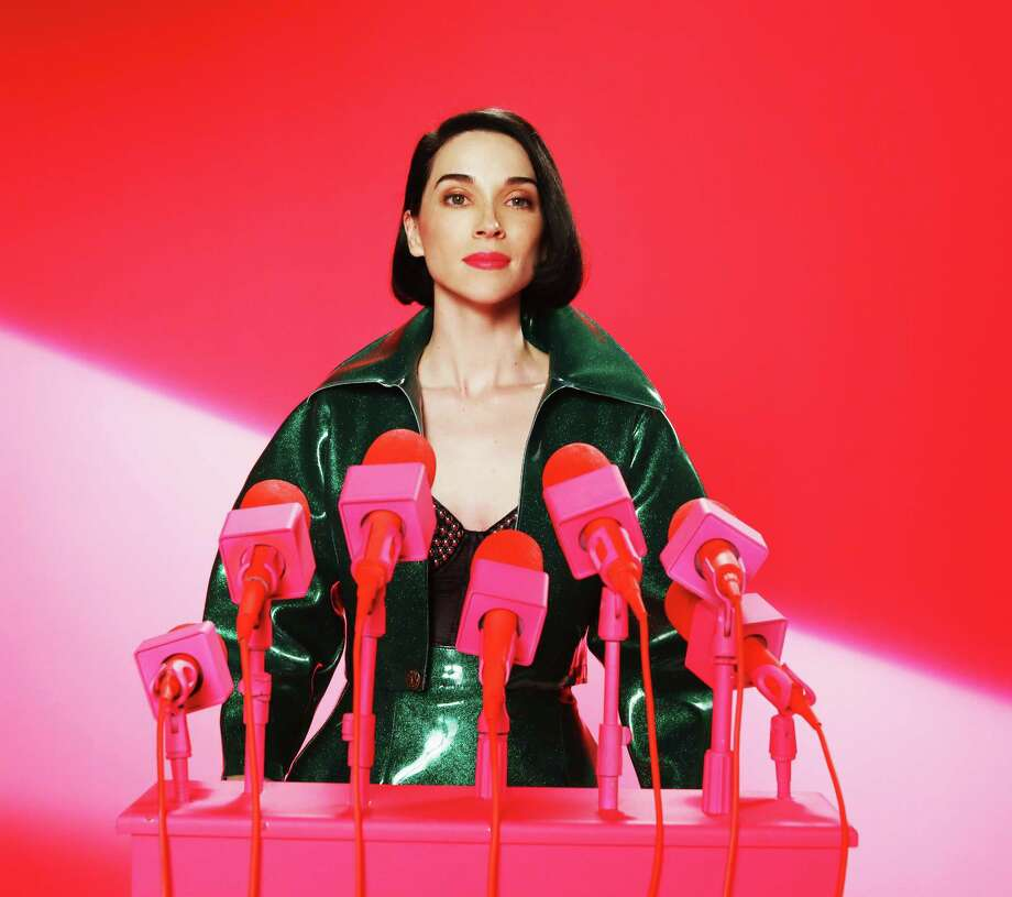 Dallas native Annie Clark performs as St. Vincent. She released her fifth album MASSEDUCATION in fall of 2017. Photo: Nedda Afsari