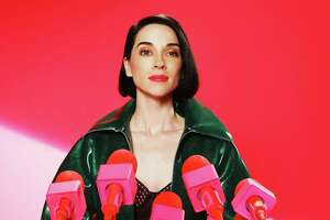 Dallas native Annie Clark performs as St. Vincent. She released her fifth album MASSEDUCATION in fall of 2017.