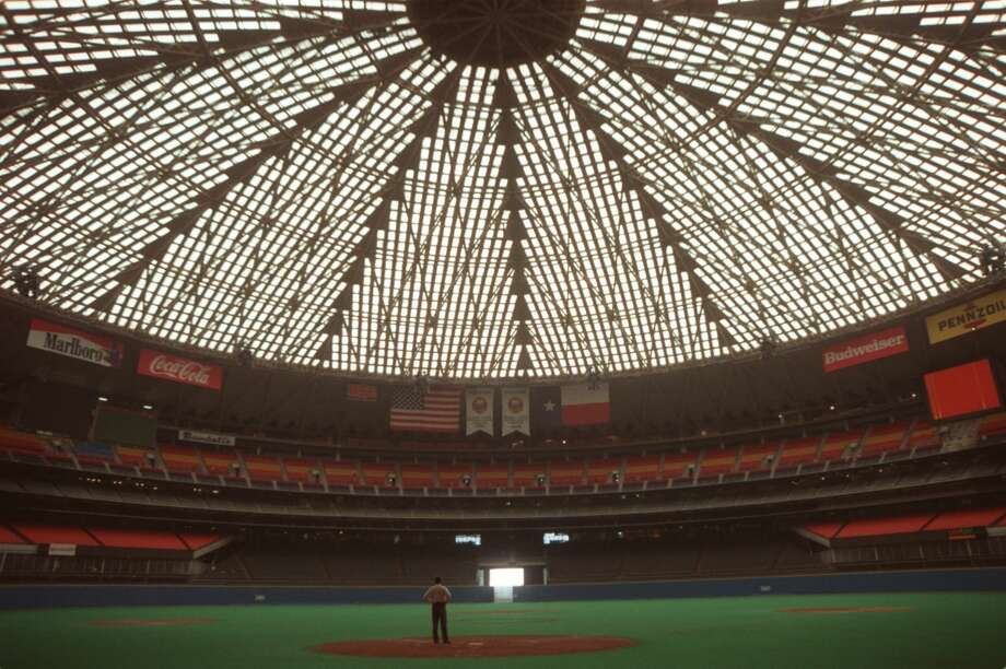 The Roman Colosseum was a kind of performance village. Why can't the Astrodome, inspired by the Colosseum, become the same for modern sports? Photo: Carlos Antonio Rios/Houston Chronicle