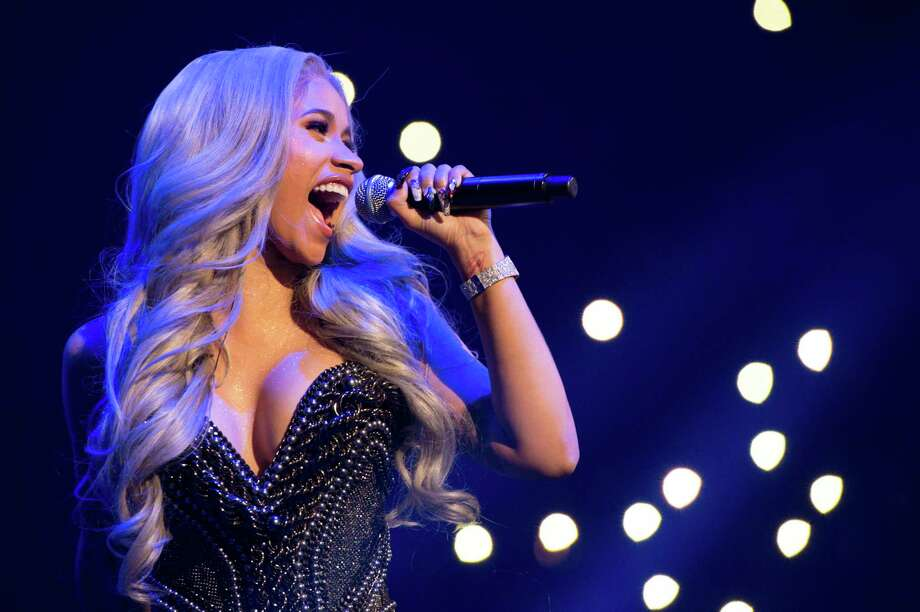 Afro-Latina rapper Cardi B gleefully revels in her sexuality and confronts stereotypes. Photo: Scott Roth, INVL / 2017 Invision