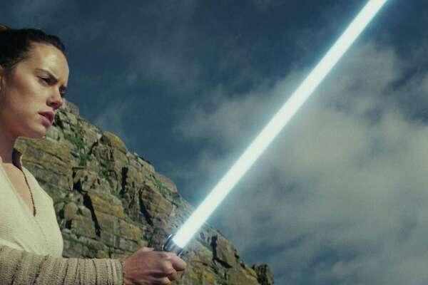 "Rey (Daisy Ridley) in ""Star Wars: The Last Jedi."" (Lucasfilm Ltd.)"