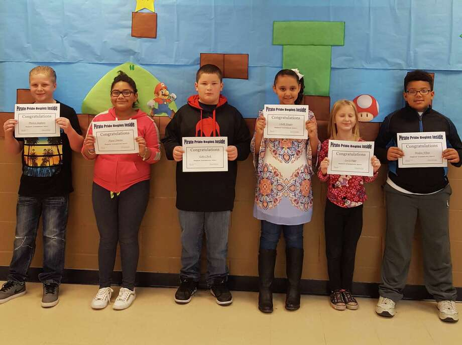 Every week, teachers from Shepherd ISD pick two students from their classes who show Pirate Pride. These students exemplify Pirate Pride by being helpful and respectful to teachers and peers. The following students were chosen to represent Shepherd Intermediate School this week: Braden White, Lacey Papp, Kobie Cheek, Isbelle Hooper, Preston Stephens and Alyssa Jimenez. Photo: Submitted