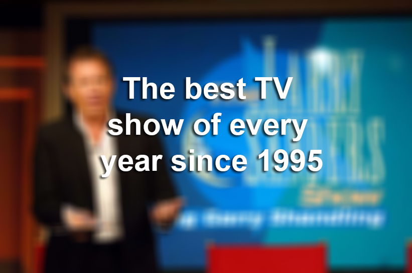 The best TV show of every year since 1995, according to Metacritic ...
