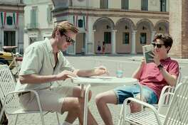 "(L-r) Armie Hammer as Oliver and Timoth�e Chalamet as Elio in ""Call Me By Your Name."" MUST CREDIT: Sony Pictures Classics"