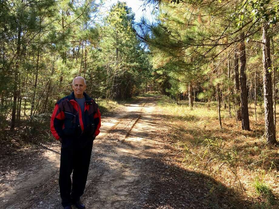 Charlie Horton stands at the entrance to his property in Montgomery County In December, 2017. He opposes Conroe's plans to annex the area. Photo: Mike Snyder