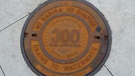 300 Tricentennial manhole cover.