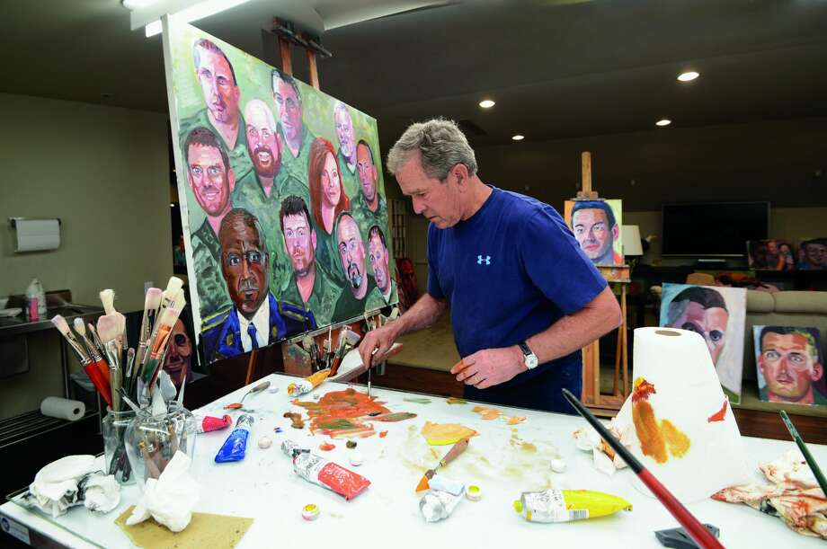 'Portraits of Courage: A Commander in Chief's Tribute to America's Warriors' to be on display Jan. 2-March 25 Photo: Grant Miller