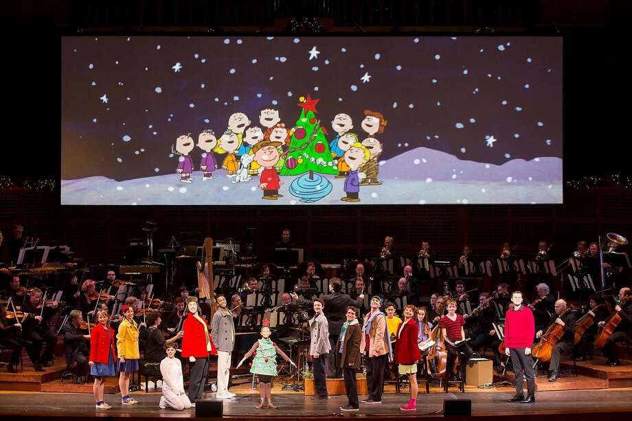 "Live dancers join the S.F. Symphony for ""A Charlie Brown Christmas."" Photo: Courtesy SF Symphony"