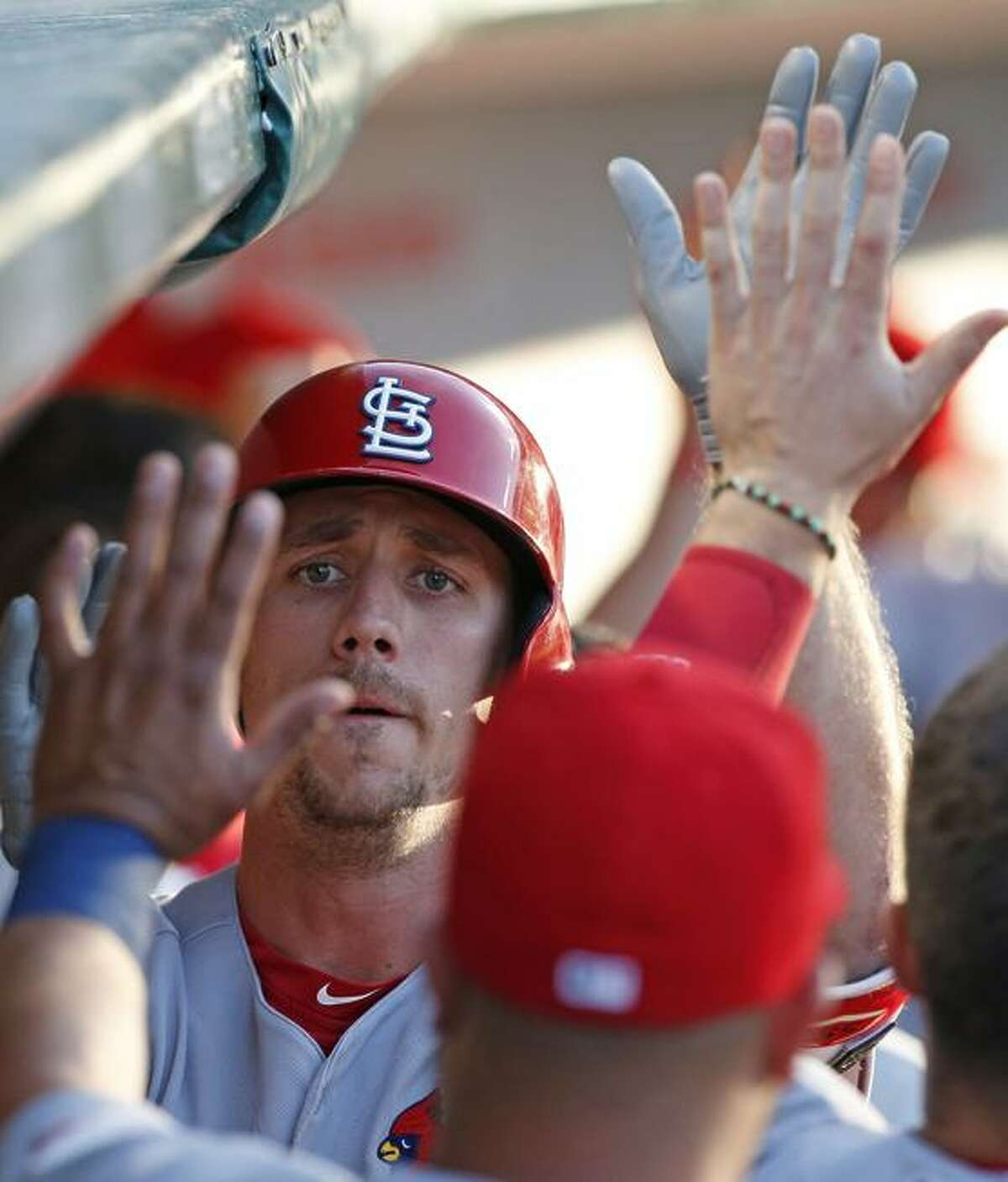 The Cardinals' Stephen Piscotty hit .235 with nine homers in 2017.