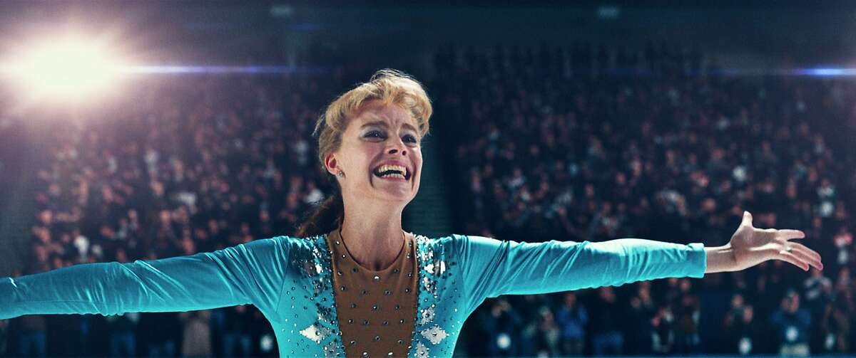 """This image released by Neon shows Margot Robbie as Tonya Harding in a scene from """"I, Tonya."""" On Wednesday, Dec. 13, 2017, Robbie was nominated for a screen Actors Guild Award for female actor in a leading role in a motion picture. The SAG Awards will air live on Sunday, Jan. 21 on TNT and TBS. (Neon via AP)"""