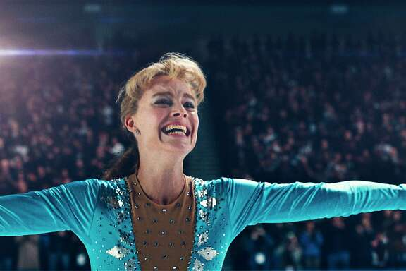"This image released by Neon shows Margot Robbie as Tonya Harding in a scene from ""I, Tonya."" On Wednesday, Dec. 13, 2017, Robbie was nominated for a screen Actors Guild Award for female actor in a leading role in a motion picture. The SAG Awards will air live on Sunday, Jan. 21 on TNT and TBS. (Neon via AP)"