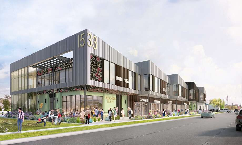 Capital Retail Properties and Wile Interests plan the Market at Houston Heights at 1533 N. Shepherd. Photo: Capital Retail Properties