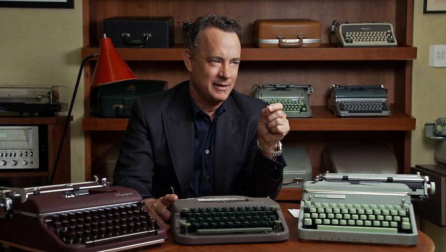 """Tom Hanks appears in """"California Typewriter,"""" showing at Berkeley Art Museum and Pacific Film Archive Dec. 22-23.   Image courtesy BAMPFA Photo: Courtesy BAMPFA"""
