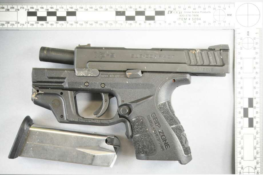 Seattle police say they recovered this gun from the Magnuson Park scene where they fatally shot a suspected armed robber Dec. 11. Photo: Seattle Police Department