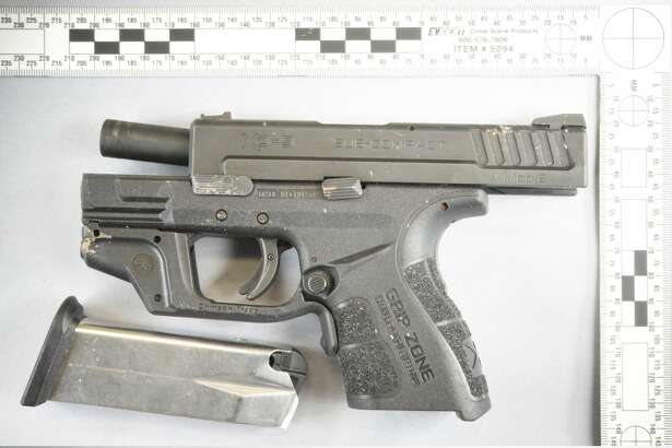 Seattle police say they recovered this gun from the Magnuson Park scene where they fatally shot a suspected armed robber Dec. 11.