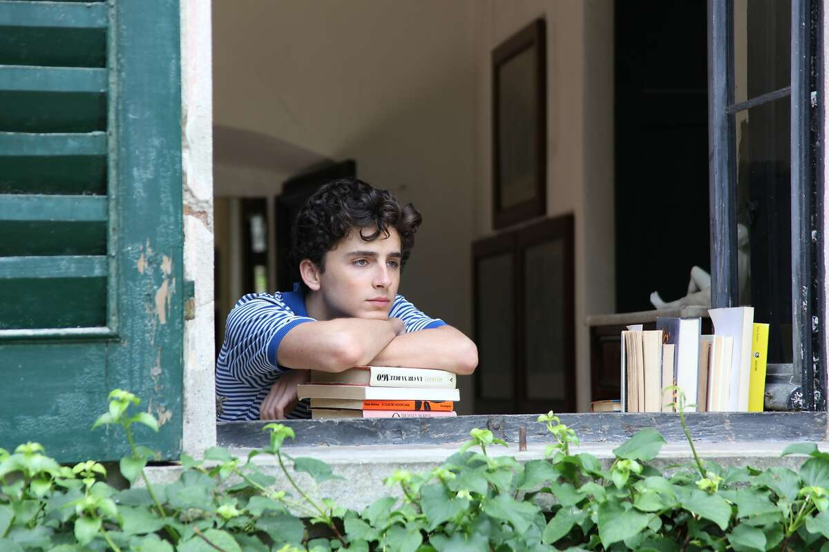 """This image released by Sony Pictures Classics shows Timoth�e Chalamet in a scene from """"Call Me By Your Name."""" On Wednesday, Dec. 13, 2017, Chalamet was nominated for a screen Actors Guild Award for male actor in a leading role in a motion picture. The SAG Awards will air live on Sunday, Jan. 21 on TNT and TBS. (Sony Pictures Classics via AP)"""
