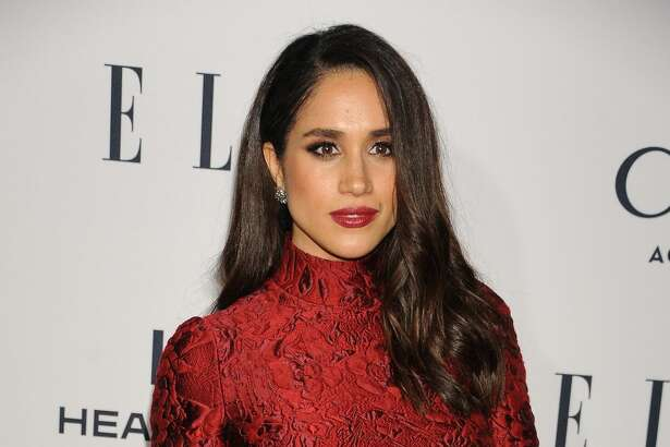 "Meghan Markle  At ""ELLE'S 6th Annual Women In Television Dinner"" held at the Sunset Tower in 2016."