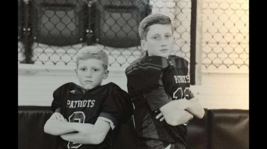 Ethan, left, and Colten Newsom, right, have both been selected for the Offense-Defense Bowl in New Orleans later this month. Courtesy photo